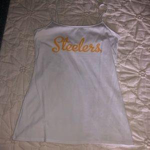 Pittsburgh Steelers Spaghetti Strap Tank Top